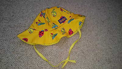 Floaties Swim Hat Yellow 2-5 years great clean condition easy dry
