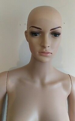 175 cm Female Mannequin Tailor Lady Window Display Shop Model Full Body Size.NOS