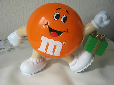 "M&m M&ms Happy Orange  6"" With Green Parcel"