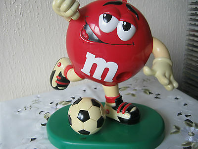 M&m M&ms Happy Red Soccer Player Dispenser