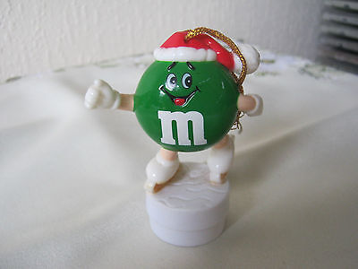 M&m M&ms Happy Green  Ice-Skater Topper