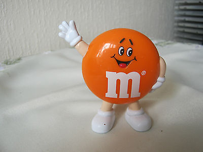 "M&m M&ms Happy 3"" Orange Waving Man"