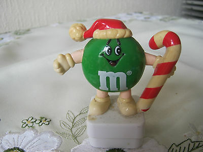 M&m M&ms Happy Green Candycane Topper