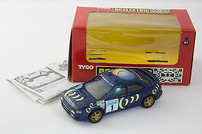 Subaru Impreza Swedish Rally McRae Scalextric TYCO