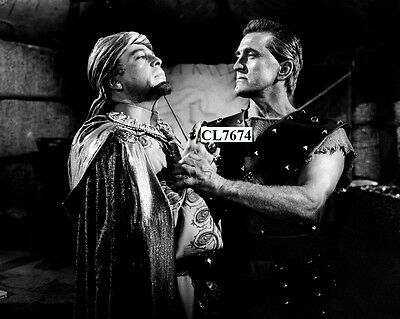 Kirk Douglas and Herbert Lom in the Movie 'Spartacus' Photo