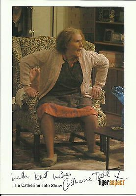 CATHERINE TATE (Nan), glossy colour promo photo 2004, ORIGINALLY SIGNED!