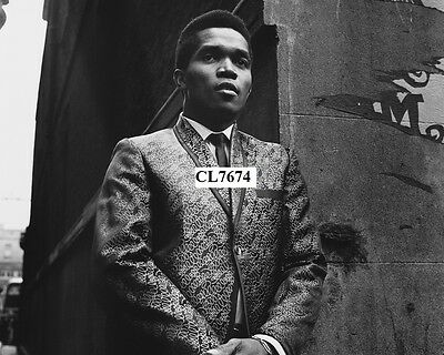 Prince Buster Poses for a Portrait Photo
