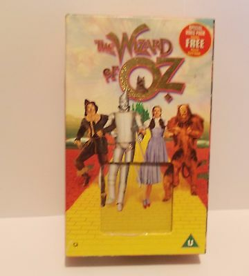The Wizard Of Oz (VHS, 2001, Video And Puzzle)