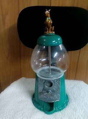 Scooby-Doo Metal And Glass Gumball Machine