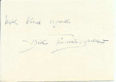 1925-2012 DIETRICH FISCHER-DISKAU, album page, ORIGINALLY SIGNED!