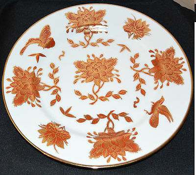 Y.T. Japanese hand decorated in Hong-Kong plate