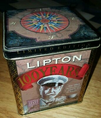 100 Year Lipton Tea Tin