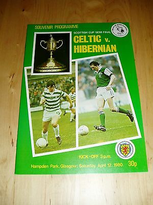 1979-80 SCOTTISH CUP S/F - CELTIC v HIBERNIAN