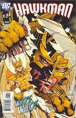 Hawkman (2002 series) #43 in Near Mint + condition. FREE bag/board