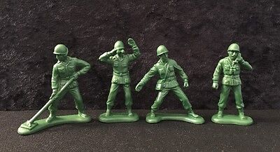 Burger King Kids Meal Toy Story - Toy Soldiers - Lot Of 4