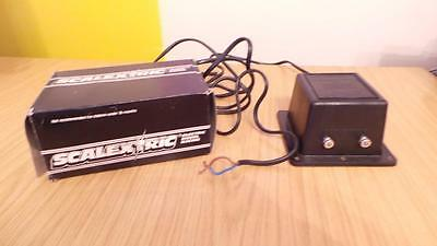 N44: Scalextric C922 Power Pack 220 - 240 Volt A.C. Mains Only