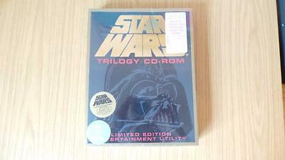 J278: Star Wars Trilogy CD-Rom Limited Edition New / Sealed