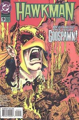 Hawkman (1993 series) #9 in Near Mint + condition. FREE bag/board