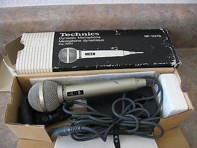 Technics RP V370 Dynamic Microphone with Box