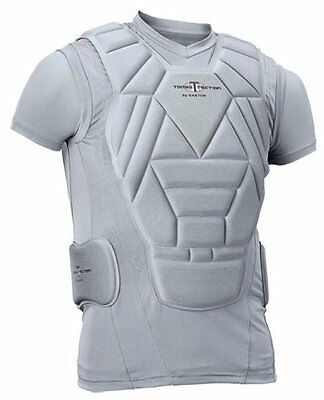 NWT Easton Torso Tection Chest Heart Protection Compression Shirt Youth XL NEW