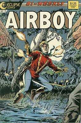 Airboy (1986 series) #15 in Near Mint + condition. FREE bag/board