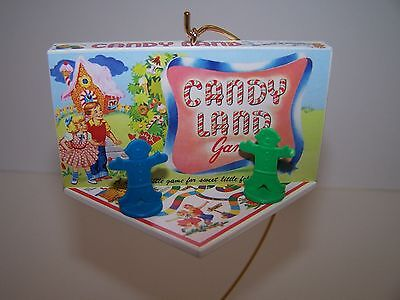 """""""CANDY LAND"""" FAMILY GAME NIGHT 3rd IN SERIES HALLMARK  2016 ORNAMENT"""