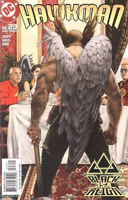 Hawkman (2002 series) #23 in Near Mint condition. FREE bag/board