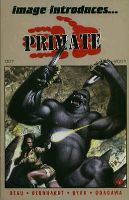 Image Introduces: Primate #1 in Near Mint + condition. FREE bag/board