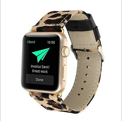 LEAPING LEOPARD Wristband Band Bracelet Strap For iWatch 42MM APPLE WATCH