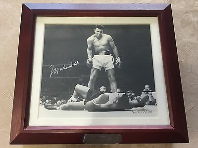 MUHAMMAD ALI  AUTO SIGNED FOSSIL WATCH SET - NEW IN BOX + Invitation & Receipts