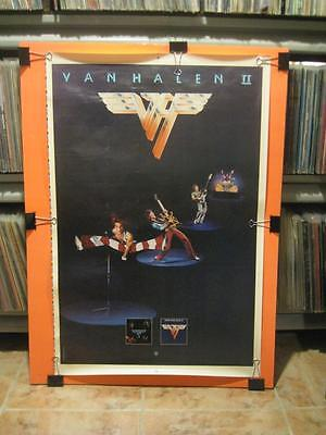 Very Rare Van Halen Ii 1979 Original Promo Proof Poster - Eddie David Lee Roth