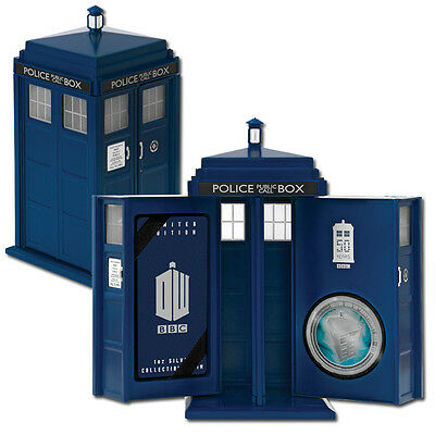 2013 $2 Doctor Who 50th Anniversary 1oz Silver Proof Coin
