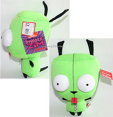 """Invader Zim Gir Alien 10"""" Tall Plush Toy Stuffed Doll Hot Topic Exclusive NEW"""