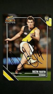 signed Select Dustan Martin Richmond card