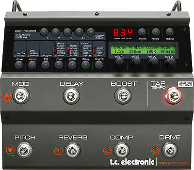 TC Electronic Nova System Analog Multi-Effects - Demo Unit - perfect - save $200