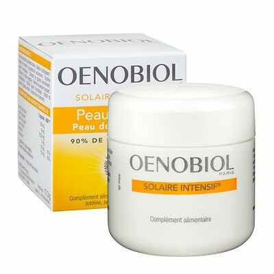 OENOBIOL Solaire Intensif 30 Tanning Capsules Tablets Enhancer Supplements