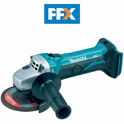 Makita DGA452Z 18v 115mm LXT Cordless Angle Grinder Naked - Body Only