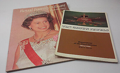 1979 The Royal Family Album And The Crown Jewels Booklets