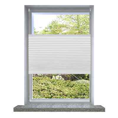 Roller Blind Blackout 110x125cm White Daynight Sunscreen Quality Window Blinds