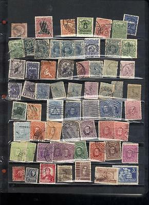 (589) Uruguay Stamps Mint & Used off paper from 1860's thru 1990's