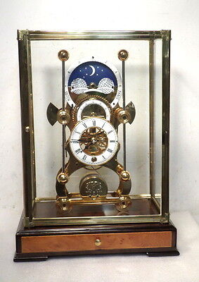 Moon Dial Harrison Grasshopper Clock-24K Gold Finish--Buy It Now--No Bidding