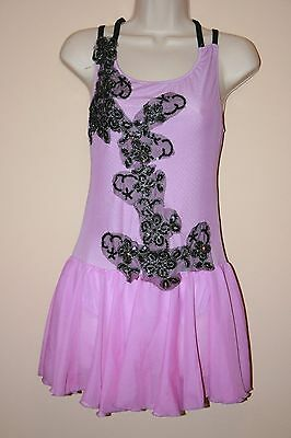Purple Ballet dress/dance costume with embellishments size Small Adult.
