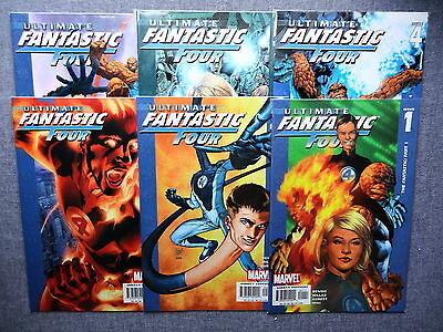 ULTIMATE FANTASTIC FOUR 1-60 Complete Series | 1st Marvel Zombies | + Variant 13