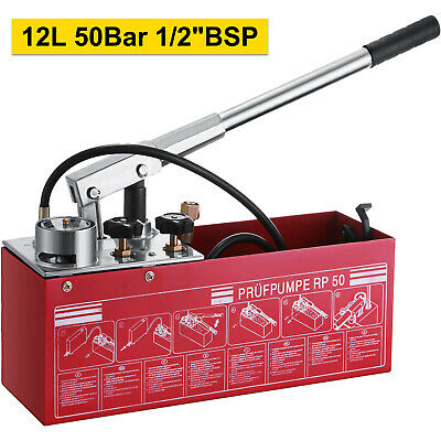 Rp50 12 Litre Waterline Heating System Leakage Pressure Test Pump