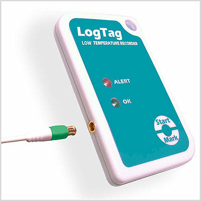 Logtag Temperature Data Logger With External Probe
