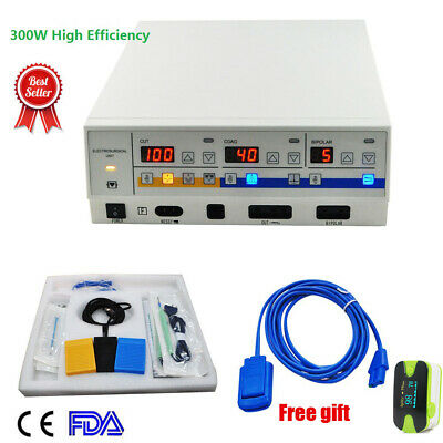 300W High Power Electrosurgical Unit electrotome Cautery Machine LEEP ISO FDA+