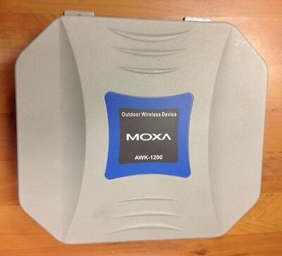 Outdoor Wireless Access Point Bridge Or Ap Client Ip67/68 Rated Moxa Awk-1200