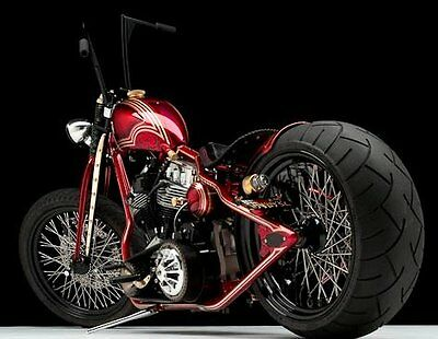 """2010 Custom Built Motorcycles Harley-Davidson Panhead (Special Construction)   Harley 93"""" SS Panhead Springer Frontend Baker Trans Eagle Engineering Primary"""