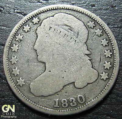 1830 Capped Bust Dime  --  MAKE US AN OFFER!  #W3674 ZXCV