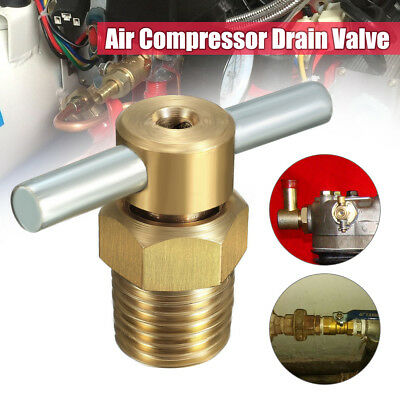 1/4'' NPT Drain Valve Petcock Water For Air Compressor Tank Replacement Part US